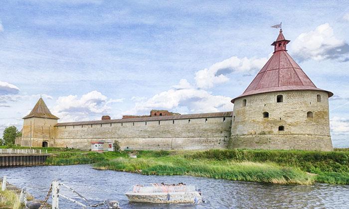 Крепость (Орешек) Шлиссельбурга