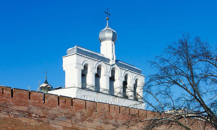 Софийская звонница Великого Новгорода