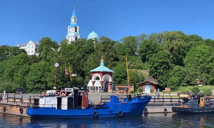 Остров Валаам в России