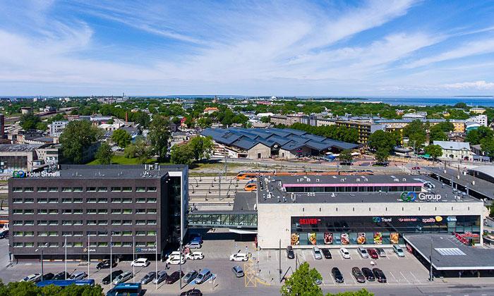 Балтийский вокзал в Таллине
