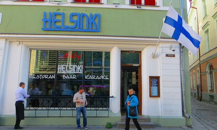 Бар «Helsinki» в Таллине