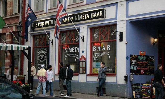 Бар «Nimeta» в Таллине