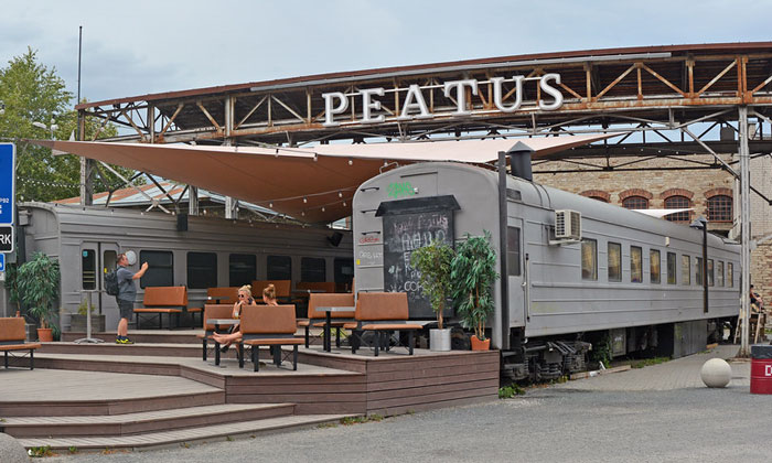 Бар «Peatus» (Таллин)