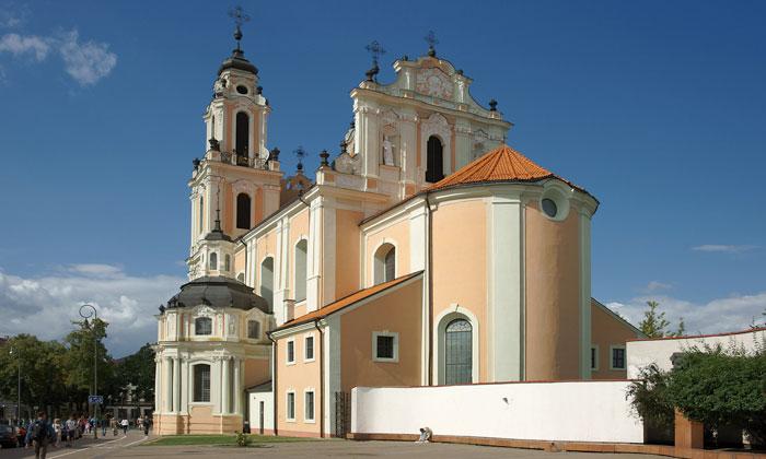 Костёл Святой Екатерины в Вильнюсе