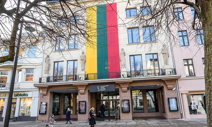 Флаг Литвы (Каунас)