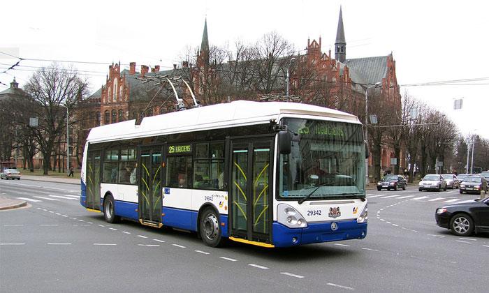Городской троллейбус (Рига)
