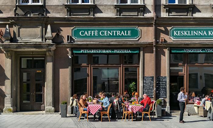 Кафе-ресторан «Centrale» в Таллине