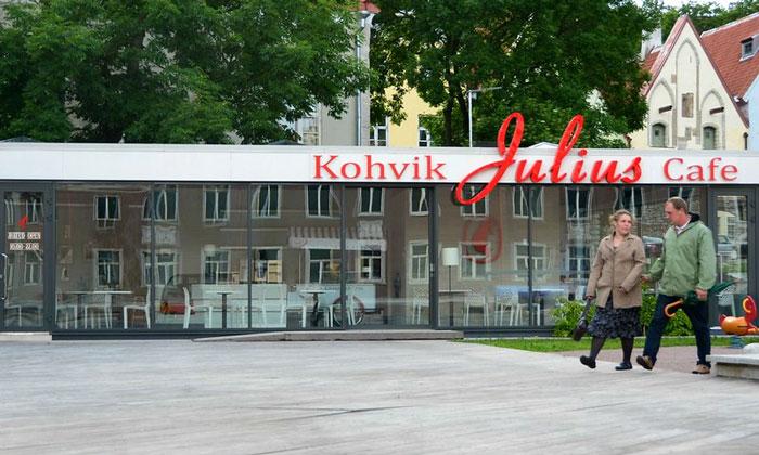 Кафе «Julius» в Таллине