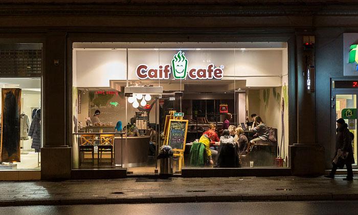 Кафе «Caif» в Вильнюсе