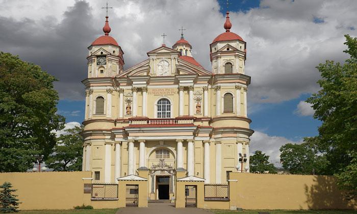 Костёл Петра и Павла в Вильнюсе