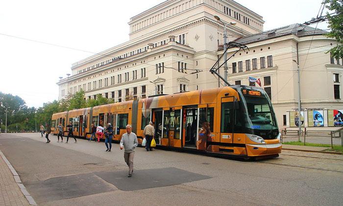 Муниципальный трамвай (Рига)