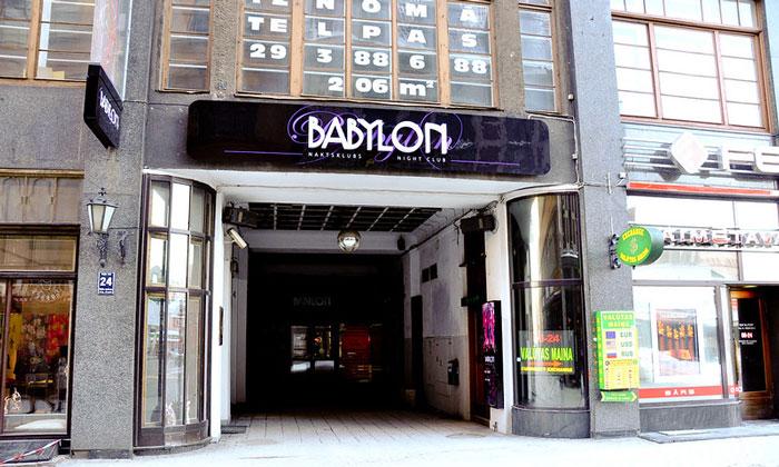 Ночной клуб «Babylon» в Риге