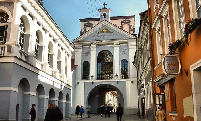 Острые ворота в Вильнюсе