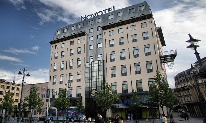 Отель «Novotel» в Вильнюсе