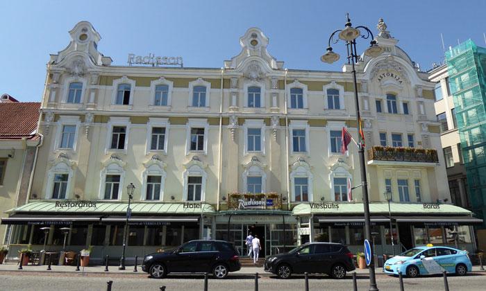 Отель «Radisson Blu Astorija» в Вильнюсе