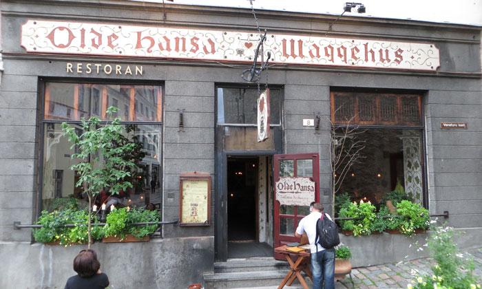 Ресторан «Olde Hansa» в Таллине