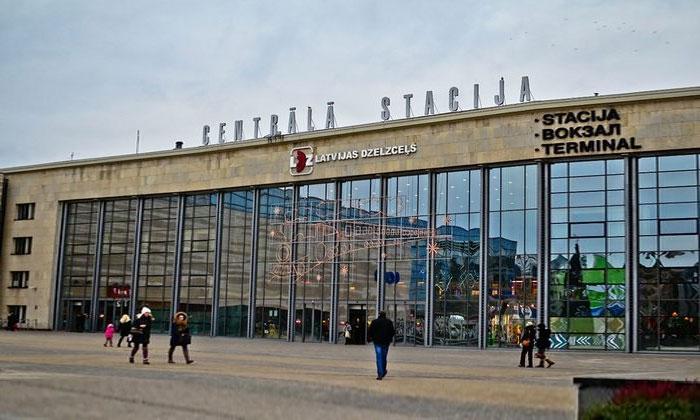 Железнодорожный вокзал Риги