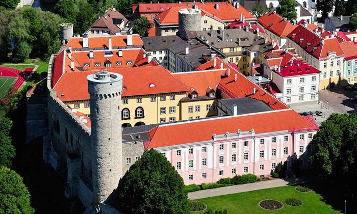Замок Тоомпеа в Таллине