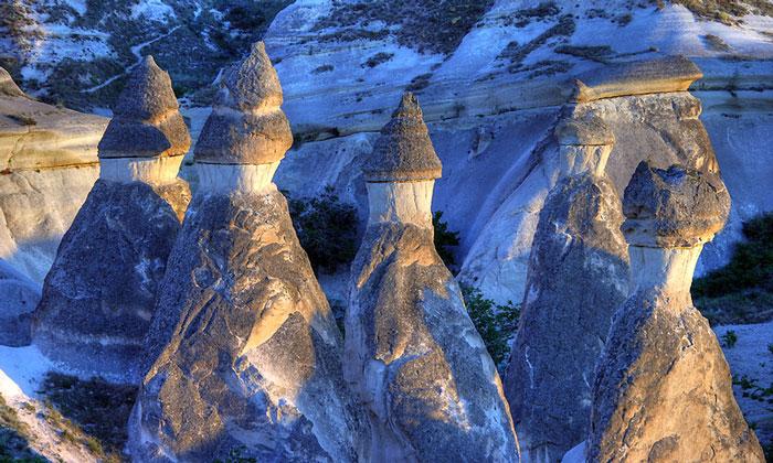 Пейзаж между Чавушином и Зельве (Каппадокия)