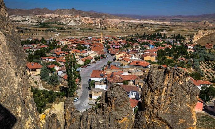 Деревня Чавушин в Каппадокии
