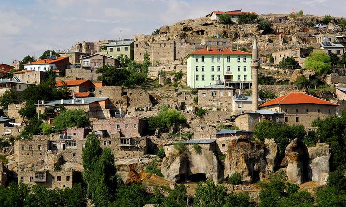 Деревня Гёкьюрт в Турции