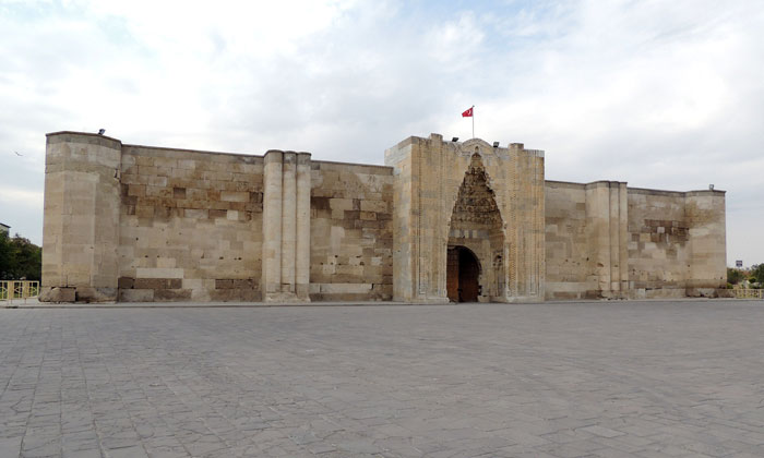 Караван-сарай Султанханы в Турции