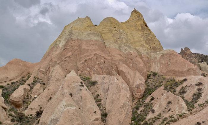 Красная долина в Каппадокии