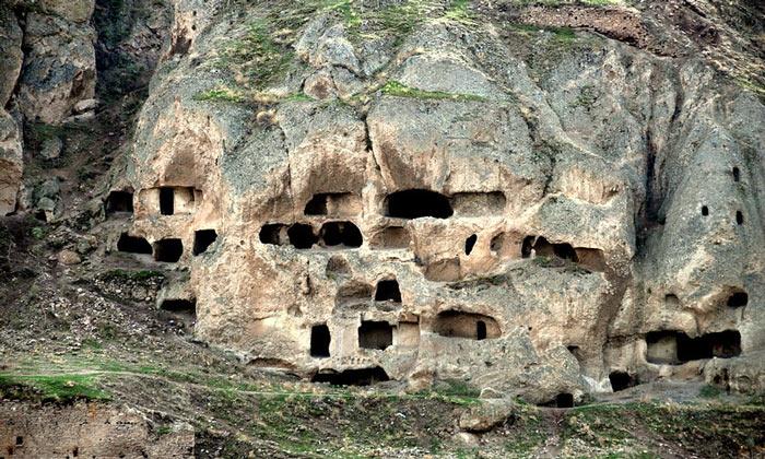 Скалы Силле в Турции