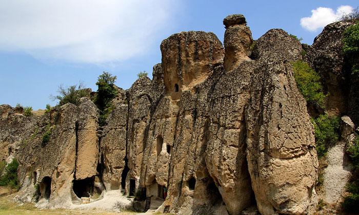 Скалы Килистра в Турции